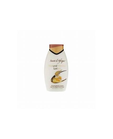 Secret d'Afrique - Crème pour le corps et les mains MIEL 500ml