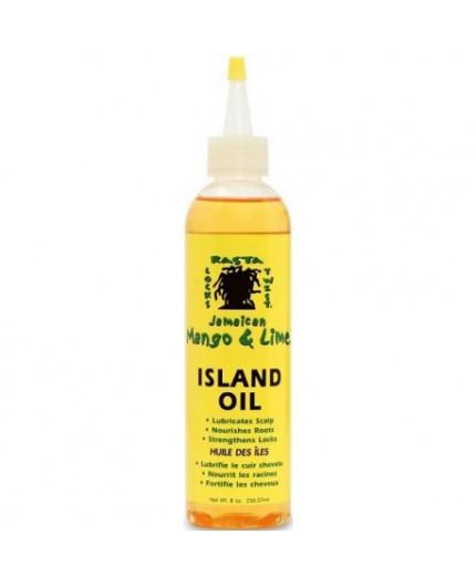 Huile des îles nourrissante 236.57ml (ISLAND OIL) JAMAICAN MANGO & LIME
